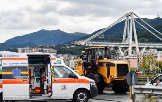 Italian deputy prime minister blames the EU for the bridge collapse in Genoa