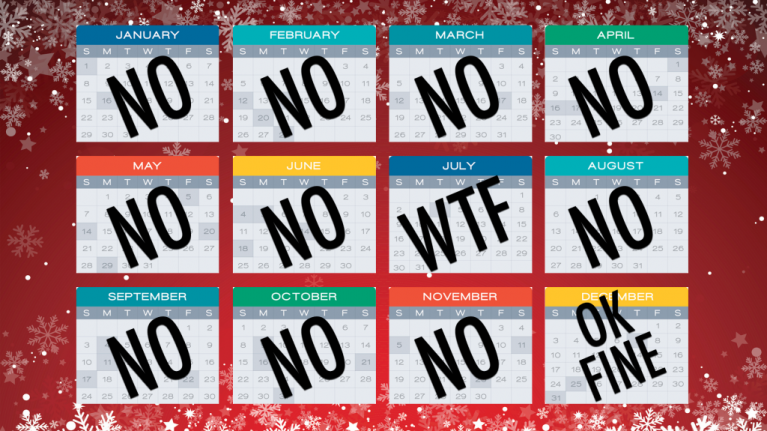 an official guide to when its acceptable to start celebrating christmas - When Did We Start Celebrating Christmas