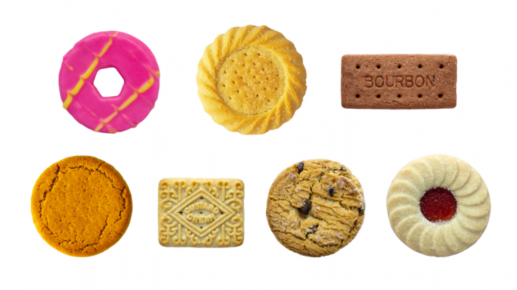 26 biscuits ranked from worst to best