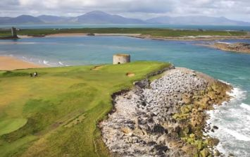 This Irish golf course has been named as one of the top 30 most beautiful in the world