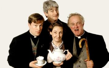 There's a Father Ted quiz and marathon happening in Dublin for anyone that's not arsed with the Pope's visit