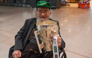 98-year-old hurling fan flies all the way from Chicago for All-Ireland final