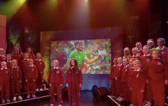 This brilliant tribute to Dolores O'Riordan from a Limerick choir had everyone talking during Up For the Match