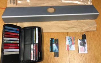 PICS: Photos of items seized in sophisticated ATM scam have been released by Gardaí