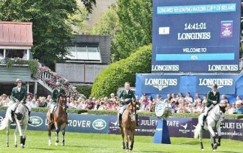 Irish Show Jumping team tie for second place in Aga Khan cup at Dublin Horse Show