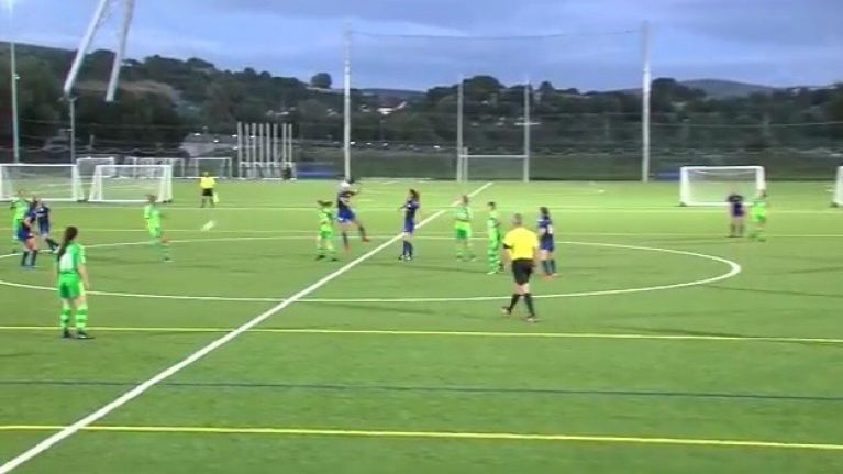 WATCH: Contender for Goal Of The Year as player scores stellar goal from inside their own half