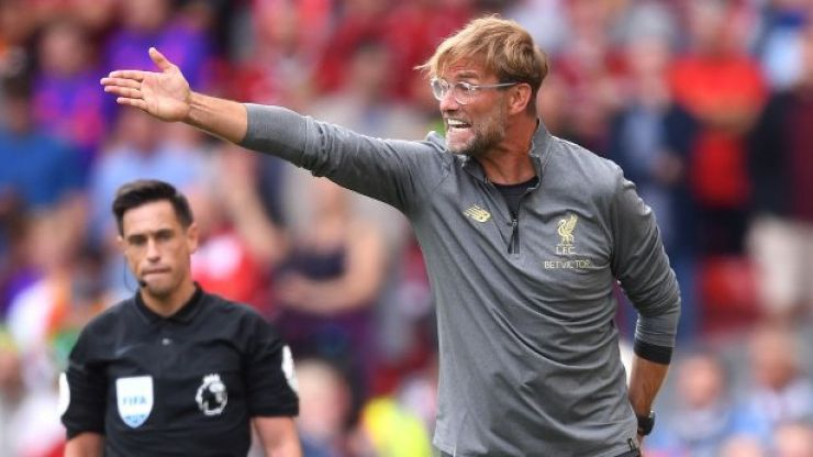 Jürgen Klopp'scelebration for Liverpool's second goal against West Ham was absolutely bizarre