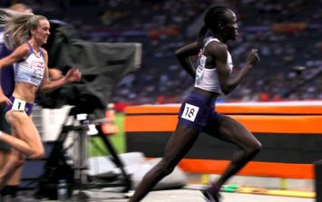 WATCH: European Championships runner thinks she's won silver... only the race isn't over