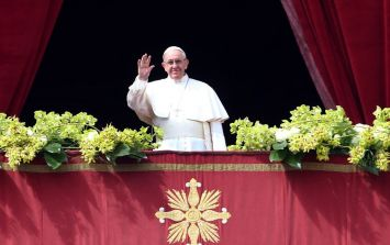 This portable Papal chair is a must-have for anyone attending the Pope's visit to Ireland