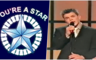 Remember Michael Leonard from You're A Star? He's still singing, and he's pretty dang good