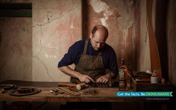 Bushmills Irish Whiskey collaborates with master craftsman to host workshop