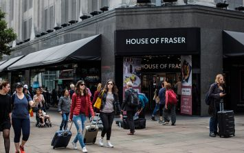 House of Fraser gift cards no longer being accepted at Dundrum store