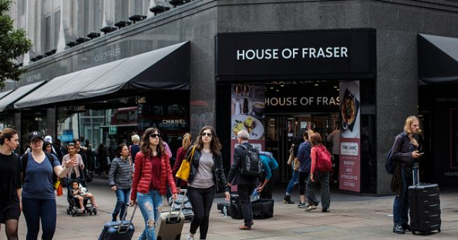 House Of Fraser Gift Cards No Longer Being Accepted At