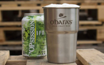 Steel pint cup launched to combat single-use plastics at festivals