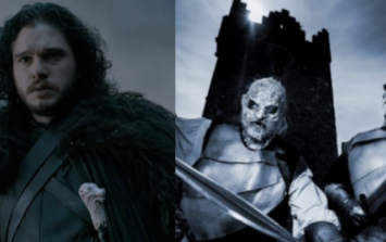 There's a Game of Thrones festival in Ireland where you can actually fight the White Walkers with Jon Snow