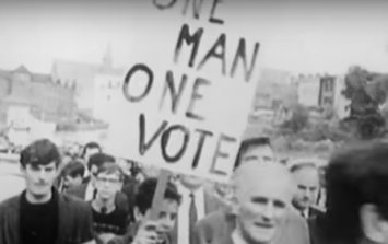 RTÉ's new documentary on The Troubles and the civil rights movement looks very strong
