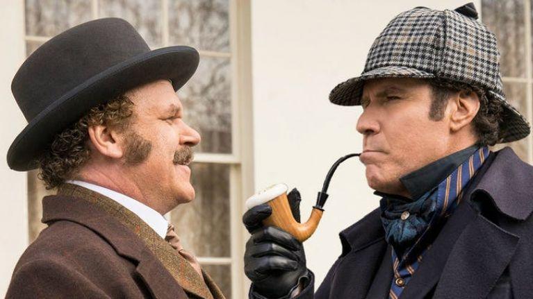 Hasil gambar untuk John C. Reilly - 'Holmes & Watson'