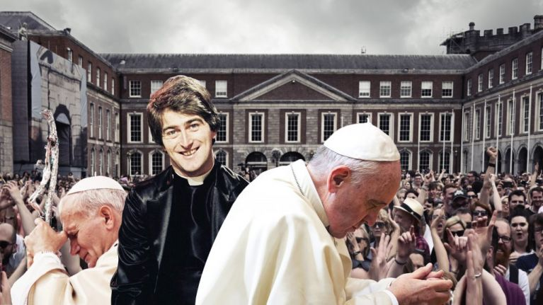 A tale of two Popes, one comedian and a changed country