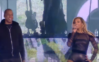 WATCH: Beyoncé and Jay-Z concert ends abruptly as dancers tackle stage invader