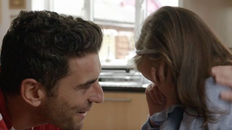 WATCH: Emotional scenes as Bernard Brogan surprises brave 10-year-old Dublin superfan
