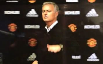 WATCH: Jose Mourinho storms out of press conference demanding respect