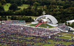 Poor attendance at the Pope's Mass blamed on RTÉ and poor weather