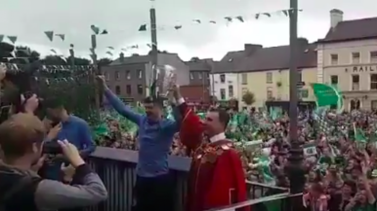 WATCH: Limerick is absolutely buzzing at the homecoming for the hurling champions
