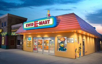 Real life Kwik-E-Mart from The Simpsons opens in America
