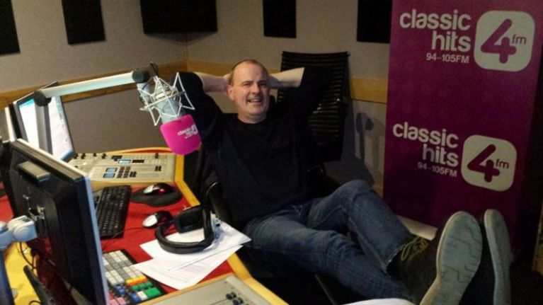 Gareth O'Callaghan to present his last show on Classic Hits 4FM today