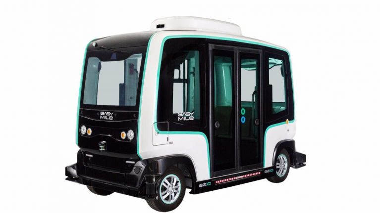 Ireland's first driverless public transport vehicle will take a spin in Dublin this weekend