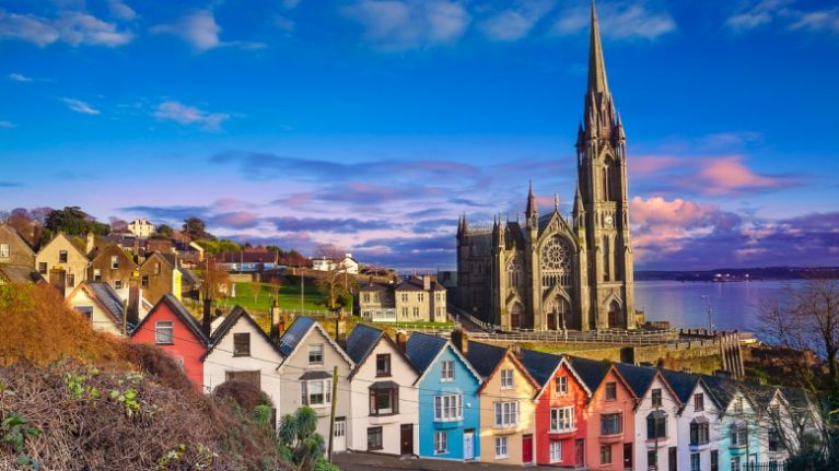 Cobh named on a list of the 25 most beautiful small towns in Europe