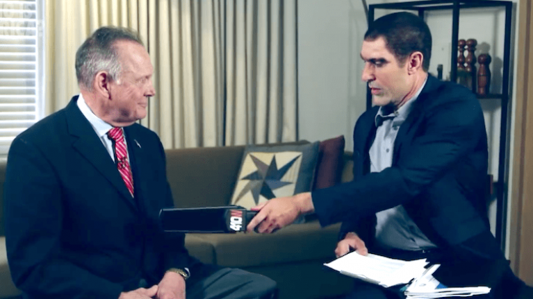 Sacha Baron Cohen sued by US politician for waving 'paedophile detector' at him