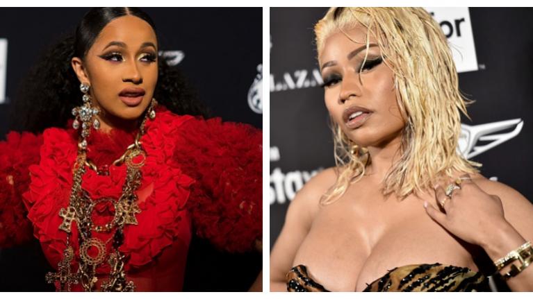 Cardi B and Nicki Minaj got into a very heated fight at an award ceremony