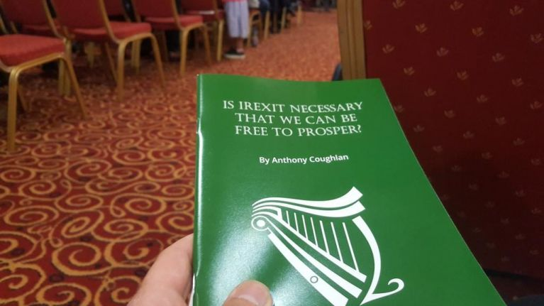 Hundreds in attendance at Irexit political party launch in Dublin