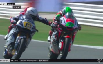 Calls to ban Moto2 driver entirely after he pulls opponent's brake at 140mph