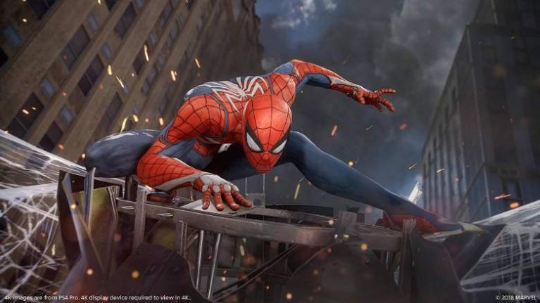 Spider-Man on the PS4 manages to beat the Arkham series in one very