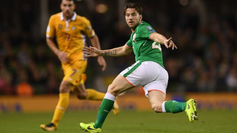 Harry Arter absent from Ireland squad after reported bust-up with Roy Keane
