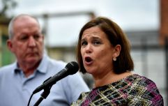 Support for Sinn Féin drops five points, according to new poll