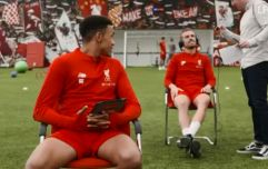 WATCH: Jordan Henderson casually tells film crew member that his wife has gone into labour