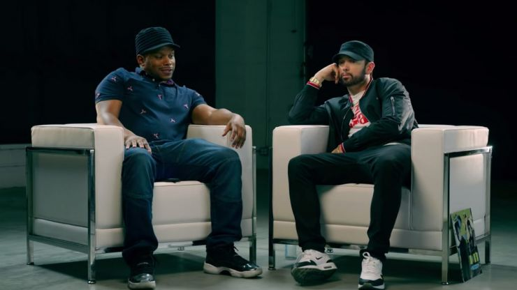 Eminem explains why he dissed everyone in new Kamikaze interview