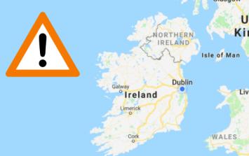 Met Éireann upgrades weather warning to status orange in 13 counties for Storm Ali