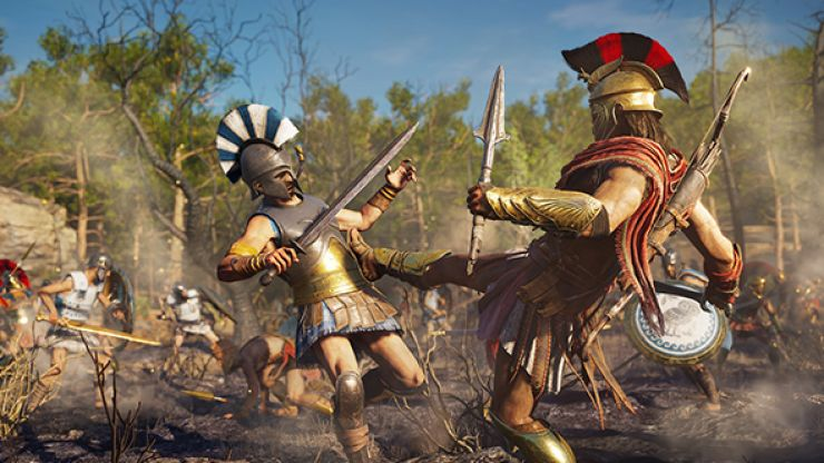 We've played the first eight hours of Assassin's Creed Odyssey and it feels like the video game equivalent of 300