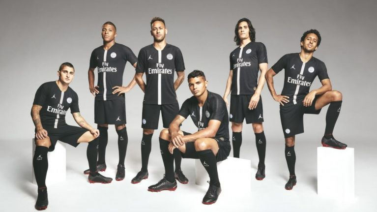 f378686b PSG unveil their new Michael Jordan themed jersey, and it is incredibly cool