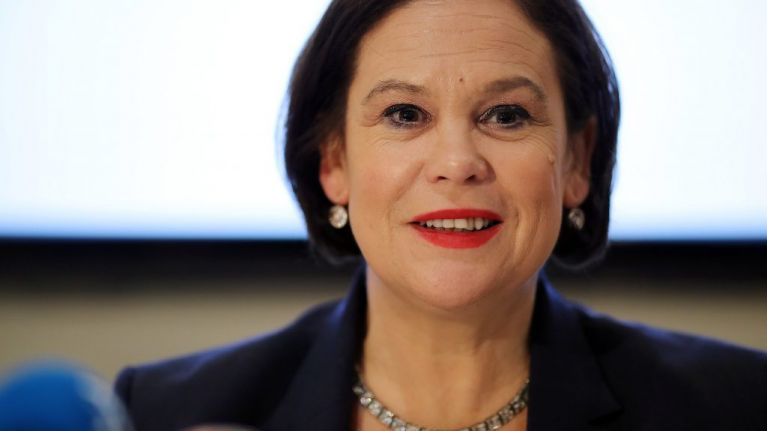 Mary Lou McDonald says 'England get out of Ireland' St Patrick's Day banner was not directed at English people