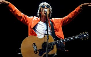 The Verve singer Richard Ashcroft responds to rumours he was holding a bag of drugs on live TV