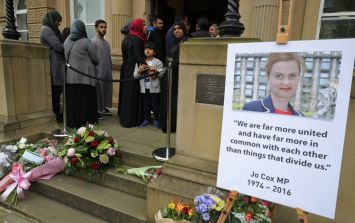 A square in central Brussels has been named in honour of murdered Labour MP Jo Cox