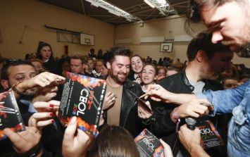 Kodaline launch CEOL 2018 CD with surprise visit to local Dublin school