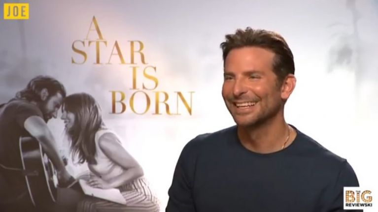 EXCLUSIVE: Bradley Cooper tells us what inspired the most magic moment of A Star Is Born