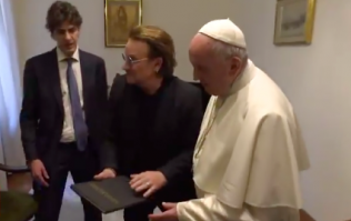 WATCH: Bono met Pope Francis, spoke to him about clerical abuse