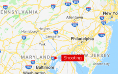 Three killed and two injured in warehouse shooting in Maryland, US